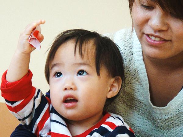 1限 あそぶがっこう(1才児) @ kite-meレッスン会場